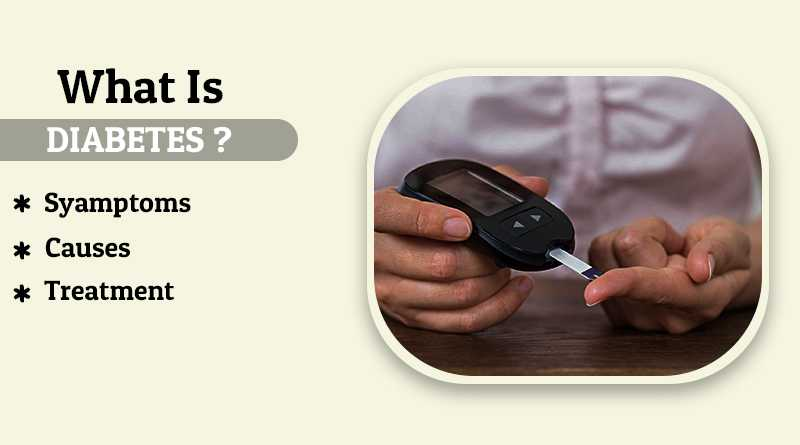What is Diabetes? Symptoms, Causes and Prevention