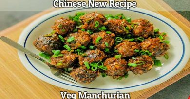 How to Make Chinese Veg Manchurian Recipe