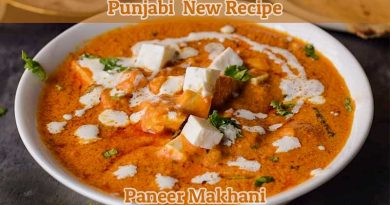 How To Make Paneer Makhani Recipe